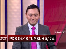 PDB Kuartal III-2018 tumbuh 5,17% YoY
