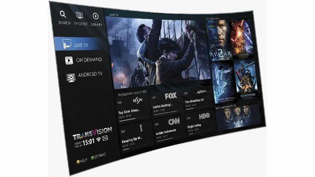 Transvision Bagi-bagi TV LED Gratis Saat Harbolnas