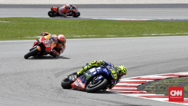 Duel vs Rossi, Marquez Tak Pikirkan Insiden Tendangan di 2015