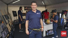 Cerita Foto Tabrakan Rossi vs Marquez di MotoGP Argentina