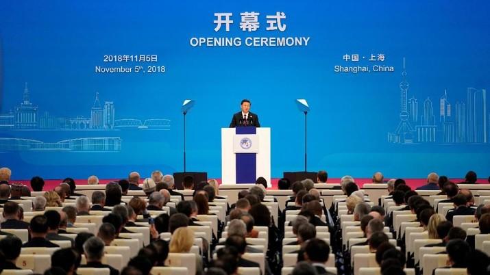 CIIE adalah inisiatif besar oleh China untuk secara proaktif membuka pasarnya kepada dunia.