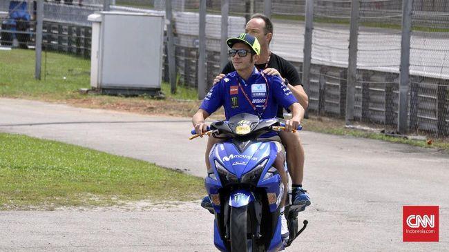 Jelang MotoGP 2019, Valentino Rossi Ditinggal Pelatih