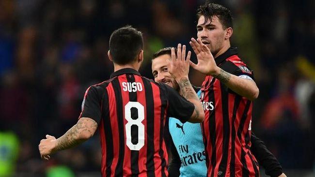 Romagnoli Dua Kali Beruntun Cetak Gol Injury Time untuk Milan