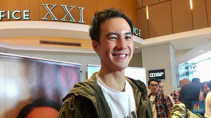 Daniel Mananta cerita grogi beradu akting dengan aktor senior di a man called Ahok