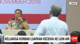 Keluarga Korban Luapkan Kecewa ke Lion Air