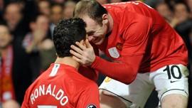 Rooney Pilih Ronaldo Jika Ballon d'Or Ditentukan Pemain