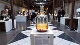 Tengok saja wine tikus yang dipamerkan di salah satu sudut museum. Minuman anggur yang berkembang di Korea Selatan dan China ini dianggap ampuh untuk mengobati beberapa jenis penyakit. (TT News Agency/Johan Nilsson via REUTERS)