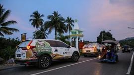 Jelajah Nusantara Bersama CR-V Turbo Nyaris Tembus 10 Ribu Km