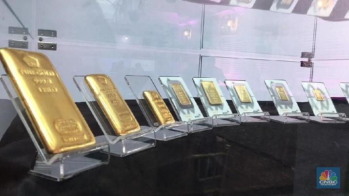 Kenaikan Harga Emas Dunia Dongkrak Harga Logam Mulia