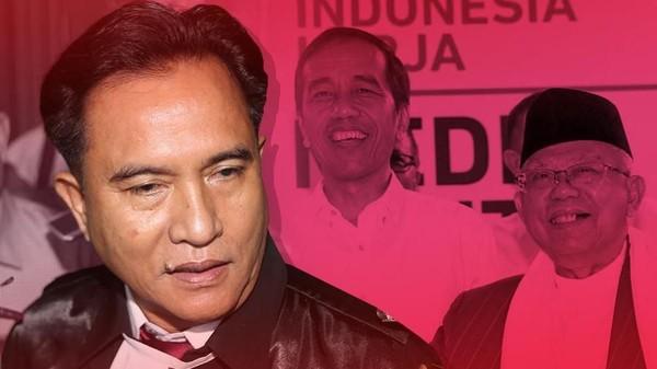 Yusril Pengacara Jokowi-Ma'ruf