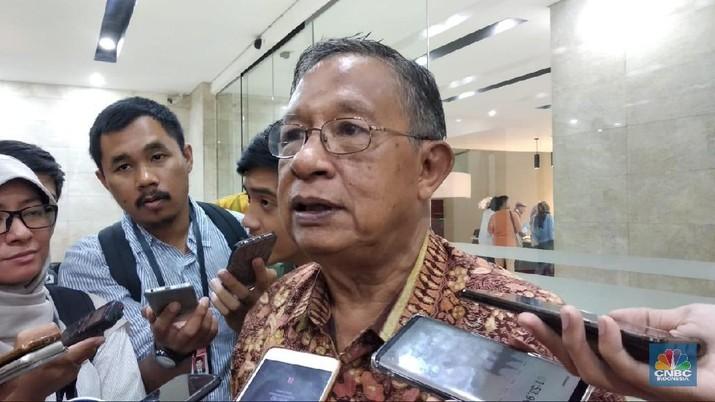 Menteri Perekonomian Darmin Nasution bicara soal pertumbuhan ekonomi yang hanya tumbuh 5,17%