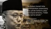 Eddy Soeparno, Wakil Ketua Badan Pemenangan Nasional Prabowo-Sandiaga/Sekretaris Jenderal PAN.