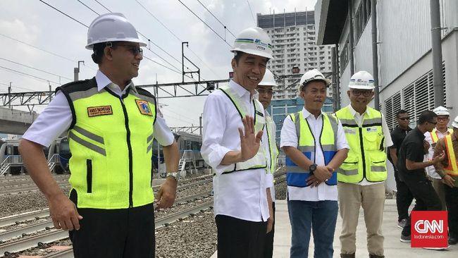 Warga Jakarta Boleh 'Cicipi' MRT Saat Uji Coba