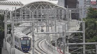 Menjajal MRT 'Kereta Perang' Lebak Bulus-Bundaran HI