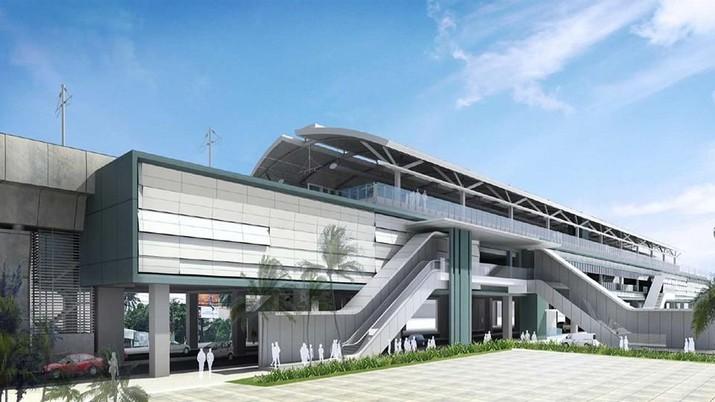 Ini Dia Penampakan 13 Stasiun MRT Jakarta