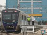 Mengintip Momen Jokowi Mencoba MRT Jakarta untuk Kali Pertama