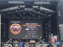 Begini Persiapan Konser Guns N' Roses di Senayan