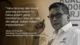 Hasto Kristiyanto, Sekretaris Tim Kampanye Nasional Jokowi-Ma'ruf/Sekretaris Jenderal PDIP.