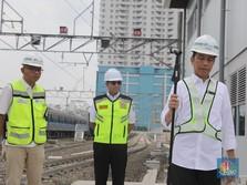 Jokowi Sebut Tarif MRT Jakarta Rp 8.000 sampai Rp 9.000