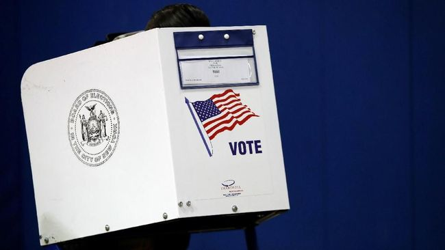 Pemilu Sela AS Terkendala Mesin Voting