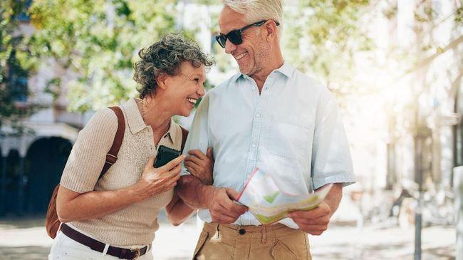 Hidup Aktif, Kunci Panjang Umur di Usia Senja