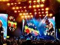 Kikan Pandu 'Indonesia Raya' di Konser Guns N Roses