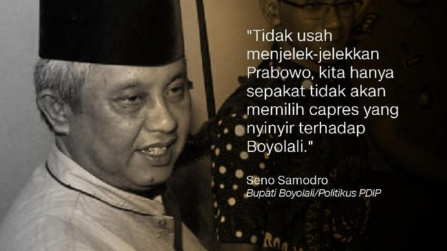 Seno Samodro, Bupati Boyolali/Politikus PDIP.