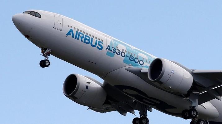 Airbus Pamerkan Pesawat Jumbo Baru, Terbang Perdana Hari Ini