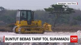 Buntut Bebas Tarif Tol Suramadu