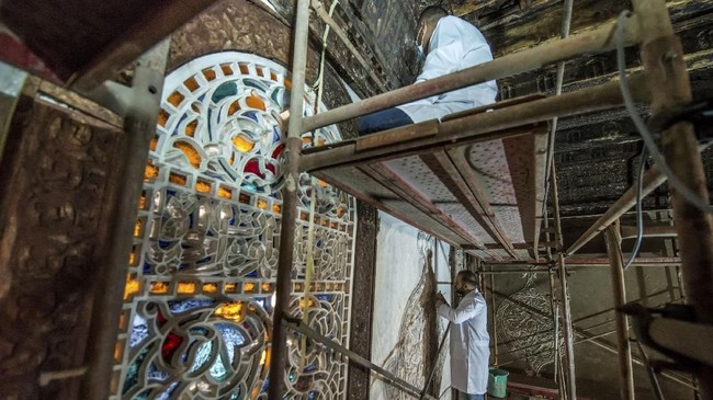 Pemulihan bentuk bangunan Masjidal-Maridani juga dilakukan oleh tim arkeolog agar kelestarian sejarah tetap dipertahankan.