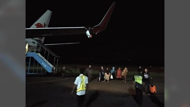 Kesaksian Penumpang soal Lion Air Senggol Tiang di Bengkulu
