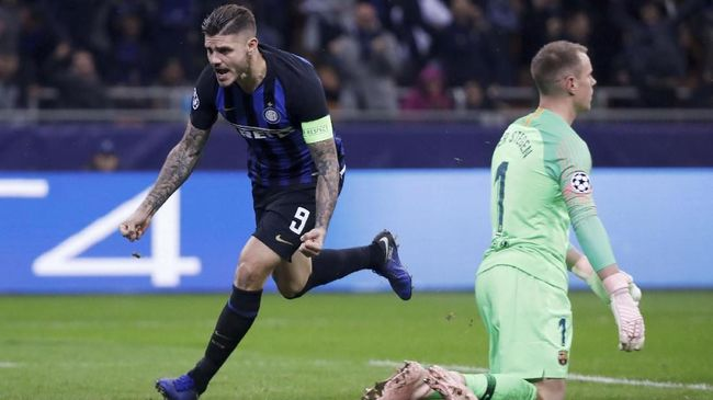 Belum Perpanjang Kontrak, Icardi Dibidik Barcelona dan Madrid