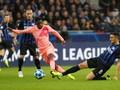 Inter Milan vs Barcelona Tanpa Gol di Babak Pertama
