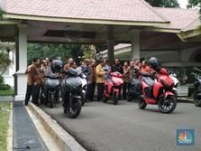 RI Bidik Produksi 2 Juta Motor Listrik Tahun Depan