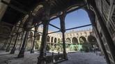 Suasana renovasi di Masjid al-Maridani.