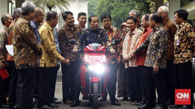 Jokowi Matangkan Perpres Kendaraan Motor Listrik