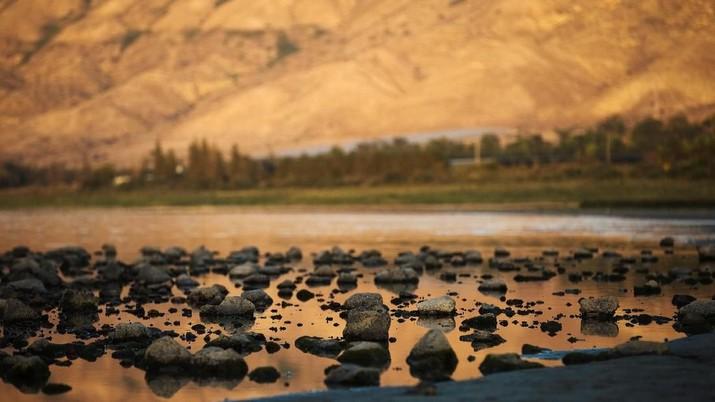 Danau Terbesar di Israel Tercemar Polusi dan Terancam Kering