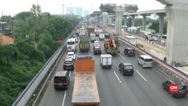 VIDEO: Rekayasa Lalin Antisipasi Kemacetan Tol Cikampek