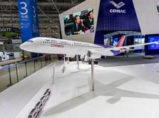 Saingi Airbus & Boeing, China-Rusia Perkenalkan Pesawat Jumbo