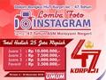 Kemenpar Gelar Lomba Foto Instagram Berhadiah Rp25 Juta