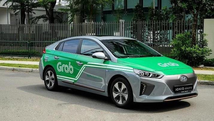Besok, 200 Mobil Listrik Grab Mengaspal Di Singapura