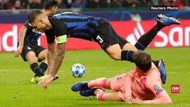 VIDEO: Tahan Imbang Barcelona, Inter Senang Messi Absen