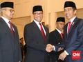 Anies dan Jokowi Bahas Persoalan Jakarta di Mobil RI 1