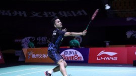 Anthony Ginting Kecewa Usai Kalah di BWF World Tour Finals