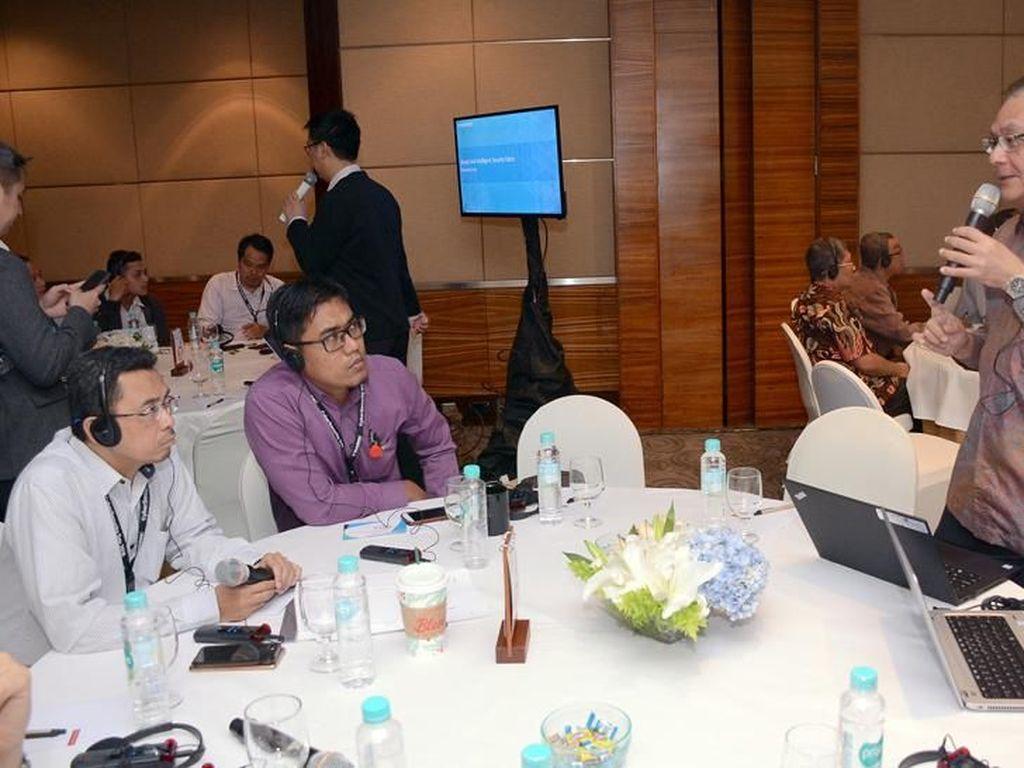 Melalui forum ini, Tech Data mengajak para pelaku industri untuk lebih sigap dalam menghadapi ancaman dari dunia cyber dengan menggunakan solusi untuk jaringan dan keamanan data. Foto: dok. Tech Data