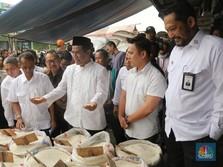 Mentan dan Dirut Bulog Sidak Harga Beras di Pasar Cipinang