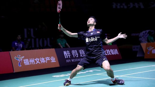 Anthony Ginting Kembali Tumbang di BWF World Tour Finals