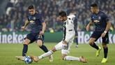 Juventus menjamu Manchester United dalam laga Liga Champions di Stadion Allianz. Di pertemuan sebelumnya, Juventus menang 1-0 di Old Trafford. (REUTERS/Stefano Rellandini)