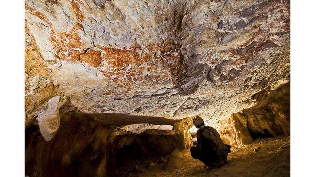 Peneliti Indonesia Temukan Lukisan Batu Tertua di Dunia
