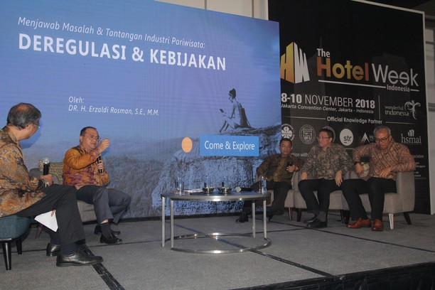 Seminar Pembukaan Pameran The Hotel Week Indonesia 2018
